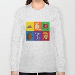 angry beavers characters Long Sleeve T-shirt