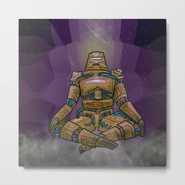 The Mind in the Creation Metal Print