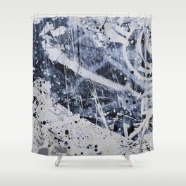 Nobodys window Shower Curtain
