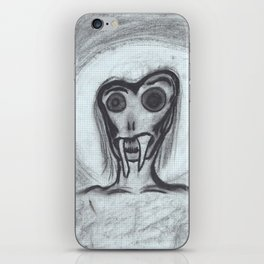 angel of grief iPhone Skin