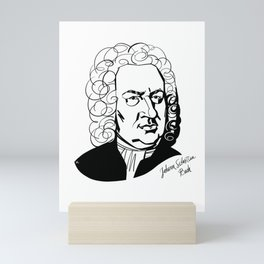 Johann Sebastian Bach Mini Art Print