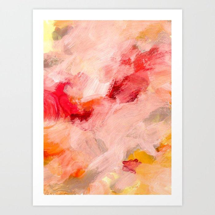 abstract painting I Art Print by patternization   Society6 - photo #5