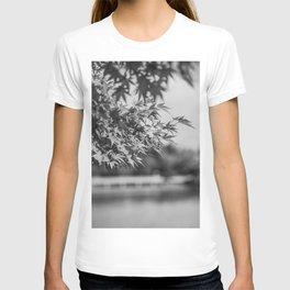 Autumn Scene (Black and White) T-shirt
