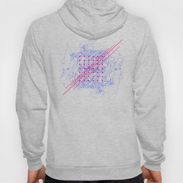 Fungus, Dots and Lines Hoody