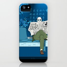 The Reader iPhone Case