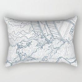 The Trench Rectangular Pillow