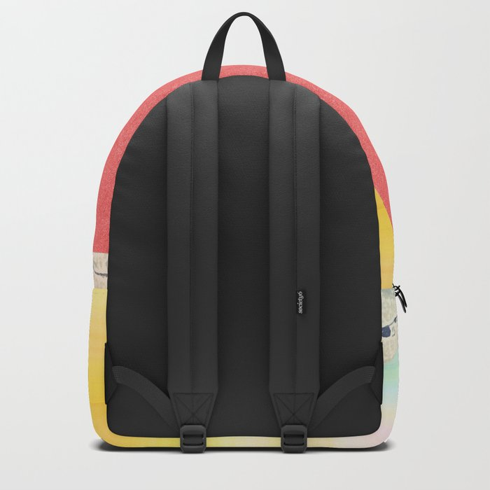 Hokusai revisited Backpack