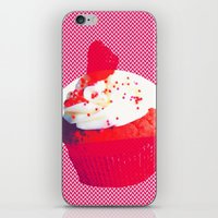 cupcake iPhone & iPod Skins featuring Cupcake by Mr and Mrs Quirynen