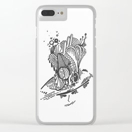 devious Clear iPhone Case