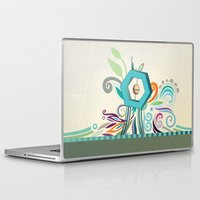 polygon Laptop & iPad Skins featuring Polygon monument by /CAM