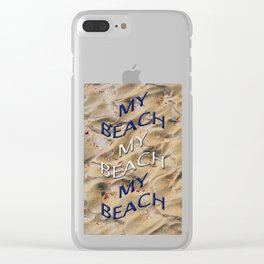 Art by Waves Clear iPhone Case