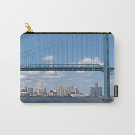 Detroit River Crossing Carry-All Pouch
