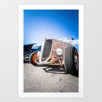 ford Art Prints featuring Ford by Nsmphotography