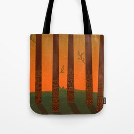 Trees of the Tribe Tote Bag