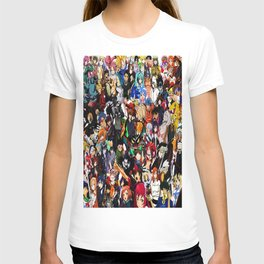 all anime cool T-shirt