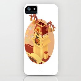 Twilight Tower (Kingdom Hearts) Isometric Art iPhone Case