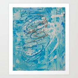 Silver Tide Art Print