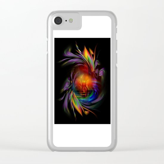 Fertile imagination 15 Clear iPhone Case