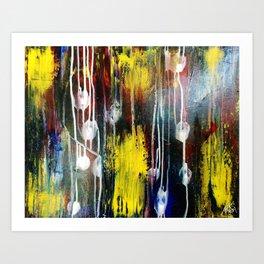 Messy Display Art Print
