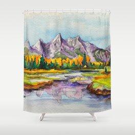 Grand Teton National Park Shower Curtain
