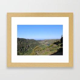 Albion, California Framed Art Print