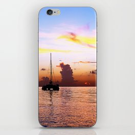 Sailboat at Sunset (Vertical) iPhone Skin