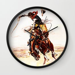 A Bad Hoss Wall Clock