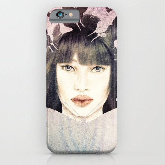 The Time of Butterflies iPhone & iPod Case