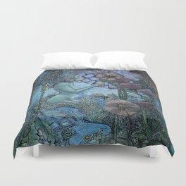 Gaian Forest Duvet Cover