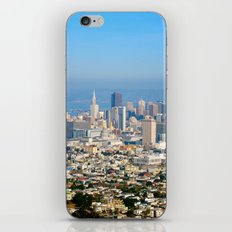 Twin Peaks, San Francisco iPhone Skin