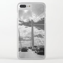 Bridge Drive Clear iPhone Case