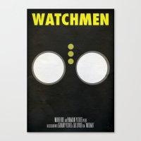 watchmen Canvas Prints featuring Watchmen - Nite Owl by Fabio Castro