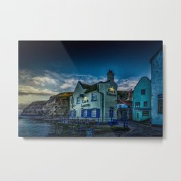 Lobster Public House Metal Print
