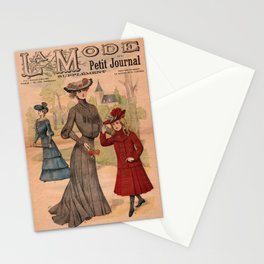La Mode du Petit Journal March 8th 1903 Stationery Cards