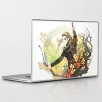 legolas Laptop & iPad Skins featuring Legolas by kagalin