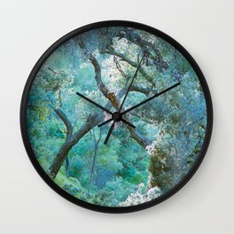 deeper she goes Wall Clock