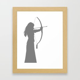 Snow White - Once Upon a Time [Ginnifer Goodwin] Framed Art Print