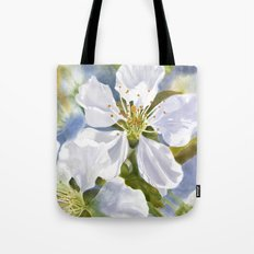 Time To Blossom Tote Bag