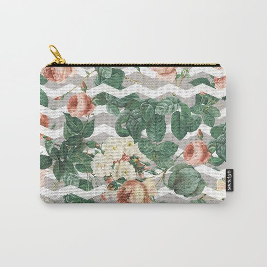 VINTAGE GARDEN III Carry-All Pouch