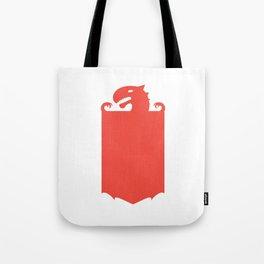 Dragon Flag Tote Bag