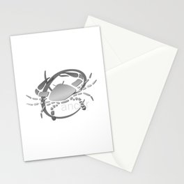 Cancer the Crab - Zodiac Sign Stationery Cards