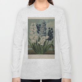 Edwards, S. (1768-1819) - The Temple of Flora 1807 - Hyacinths Long Sleeve T-shirt
