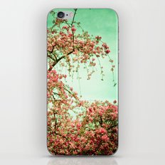Flowers Touch the Sky iPhone Skin