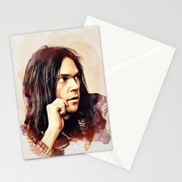 Neil Young, Music Legend Stationery Cards