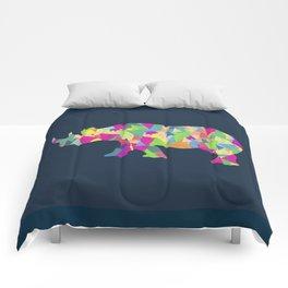 Abstract Rhino Comforters