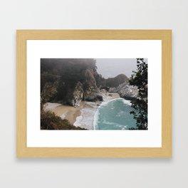 Ocean Tides Framed Art Print