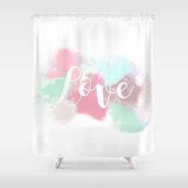 Valentine's Day - Fume Love Shower Curtain