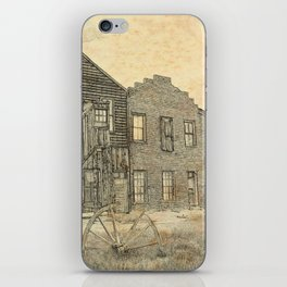 Ghost Town Bodie California iPhone Skin