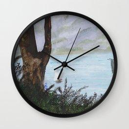 Water Sprite Wall Clock