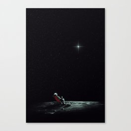 Space Chill Canvas Print